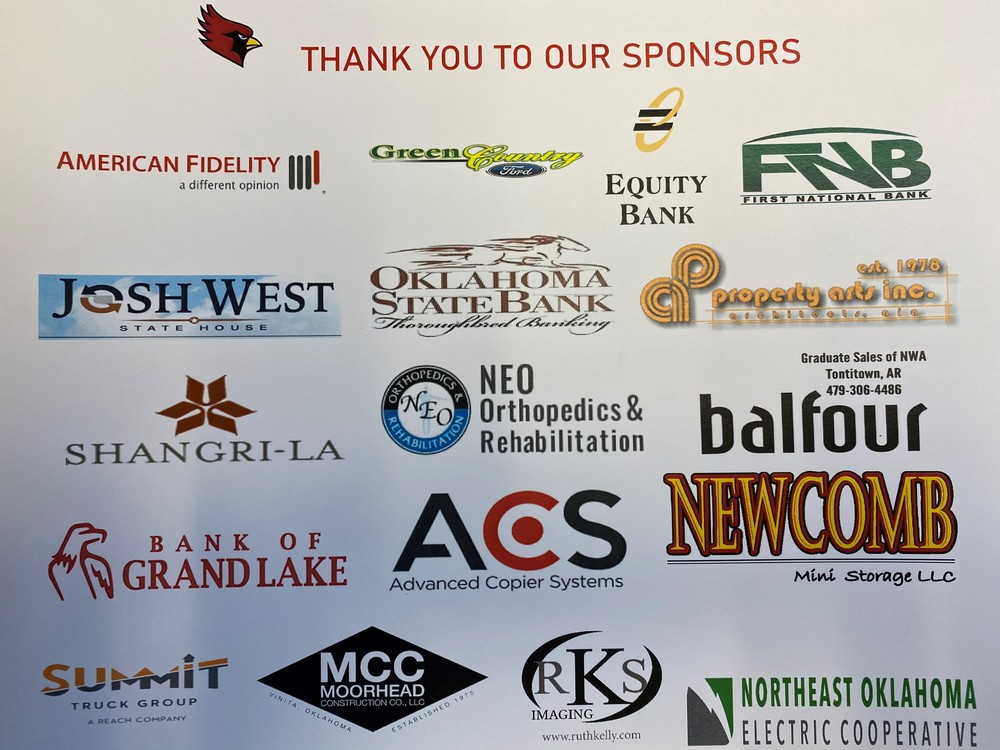 Golf Tournament Sponsorship THANK YOU
