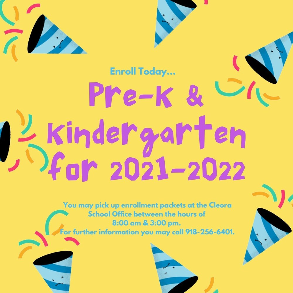 Pre-K & Kindergarten Early Enrollment